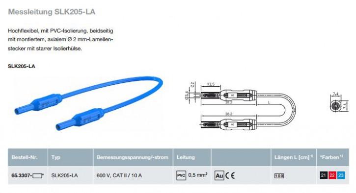 Messleitung SLK205-LA; 2 mm