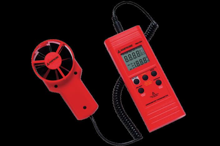 TMA10A Anemometer mit flexiblem Präzisionsflügelrad