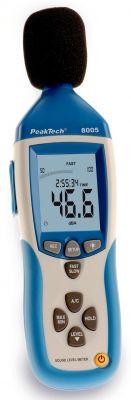 P8005 Schallpegelmesser m. Datenlogger u.USB, 4-st.PeakTech®