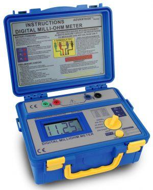 PeakTech® 1125  Digital-Milliohmmeter, 3 1/2-stellig