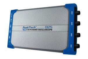 PeakTech® 1325  PC Oszilloskop  mit USB, LAN;  60 MHz/4-CH, 500