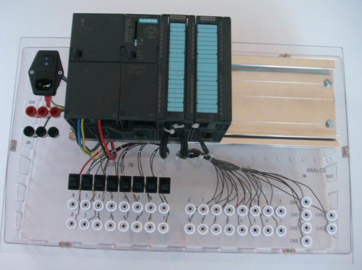 S7-300  Lehrplatte transparent