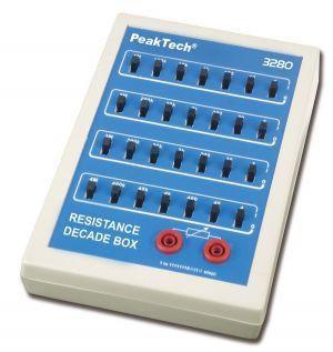 PeakTech® 3280   Widerstandsdekade