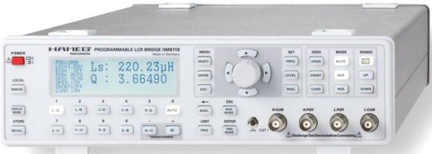HM 8118 LCR-Messbrücke  25kHz  -nicht mehr lieferbar-