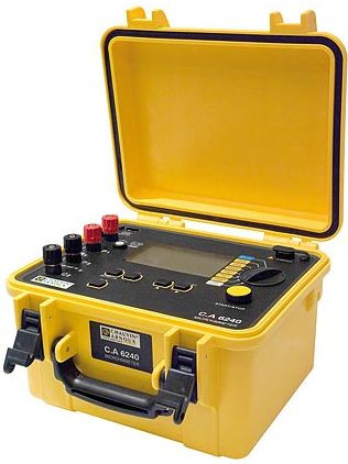 CA 6240 Micro-Ohmmeter 10 A, 4-polig   ** P01143200