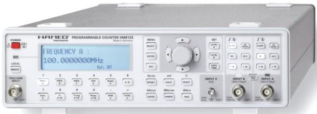 HM 8123 3 GHz Universalzähler -nicht mehr lieferbar-