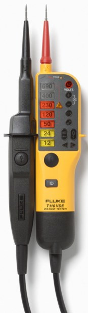 T 110  FLUKE Spannungs- / Durchgangsprüfer