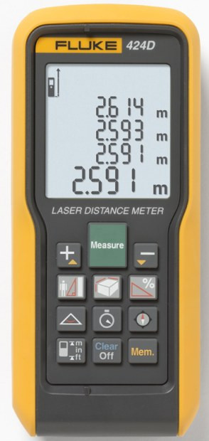 Fluke 424D Laser-Entfernungsmesser  -max. 100 m-