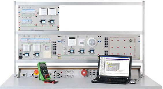 EIT 8.1 Beleuchtungs- und Jalousiesteuerung mit KBX/EIB