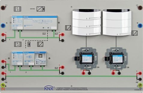EIT 8.5 Bereichserweiterung mit KNX/EIB