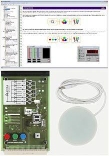 SO4204-4P LED Beleuchtung und Farberkennung