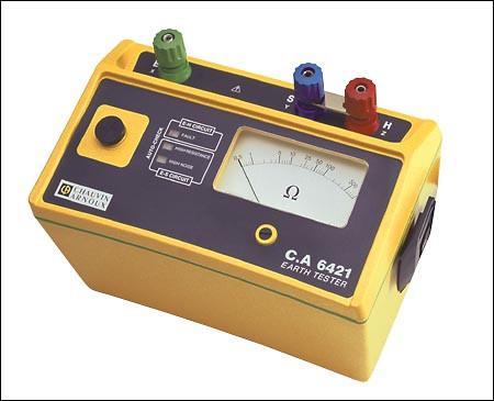 C.A 6421  Analoger Erdungsmesser (P01123011)