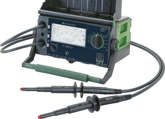 M550T METRISO PRIME  Isolationsmessgerät 5000 Volt, analog
