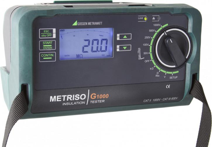 M550U  METRISO PRIME,Isolationsmessg.5000 Volt, analog