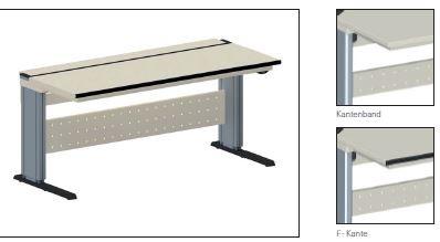 System-Tisch elektromotorisch höhenverstellbar