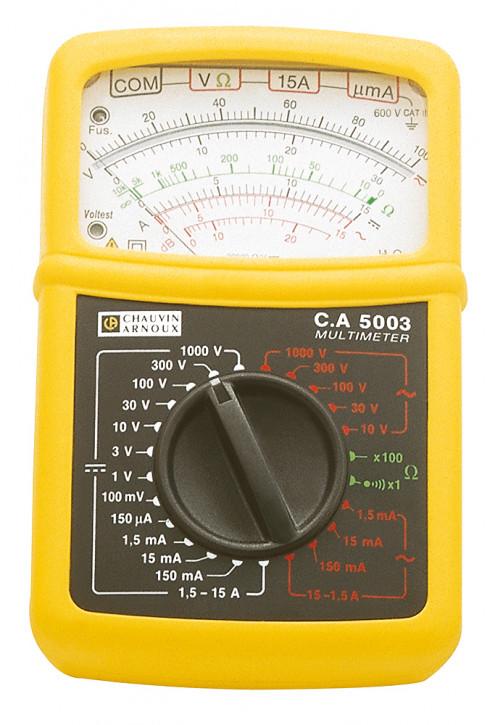 C.A 5003 P01196522E    Analoges Multimeter