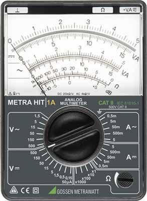 M100 A Hit 1A Analog Multimeter, (gmc)