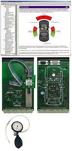 SO4204-6Z Airbag, Gurtstraffer und Crashverhalten