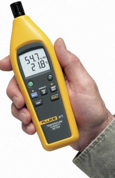 Fluke 971 Temperatur- und Feuchtigkeitsmessgerät