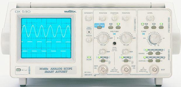 OX530S Analog-Oszilloskop - 2 x 30 MHz