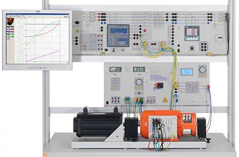 EUG 2 Auto.Synchronisierung, Leistungs-/u.Leistungsfaktorregelun