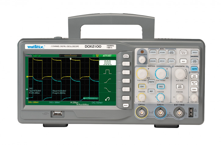 DOX 2100  Dig. Oszilloskop 2Kanal 100MHz