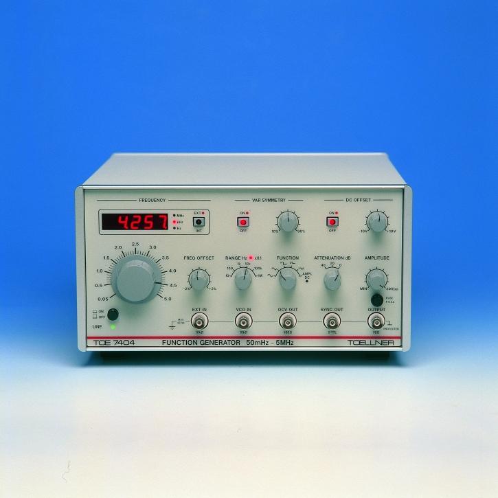 TOE 7404 Funktionsgeneratoren, 5 MHz