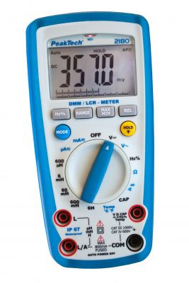 PeakTech® 2180  Dig.Handmultimeter und LCR-Meter
