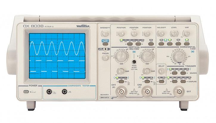 OX 803B  Analog-Oszilloskop - 2 x 40 MHz