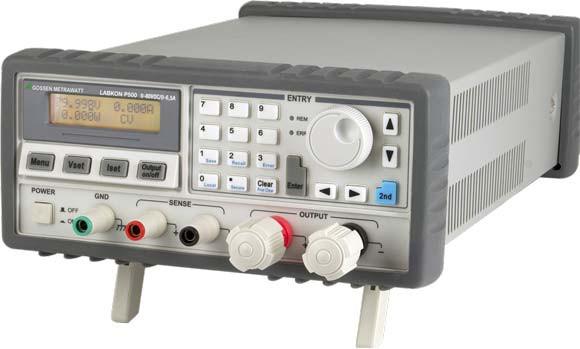 K160  LABKON P800 Labor-Stromversorgungen, rechnersteuerbar(A3)