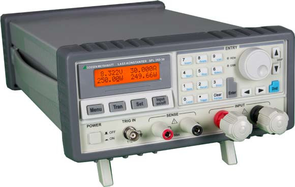 K 854A  SPL200-20 Programmierbare elekt. Lasten (A6)