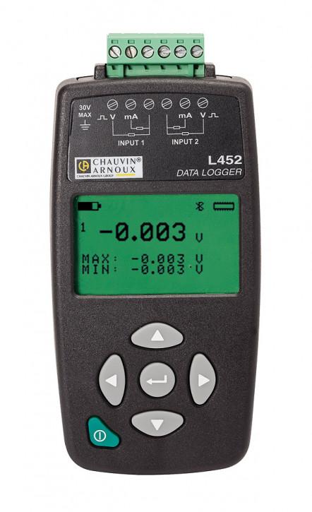 L452  2-kanal Datenlogger   (P01157201)