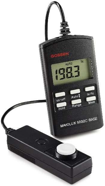 MAVOLUX 5032 C BASE Beleuchtungsstärkemessgerät dig.(M502B)