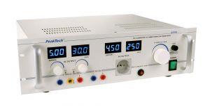 PeakTech® 2235 Regeltrenntransformator, 1000 W, 30 V/5 A, 5 V/3