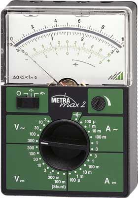 M102A  METRAmax 2 Analog-Multimeter für die Ausbildung (gmc)