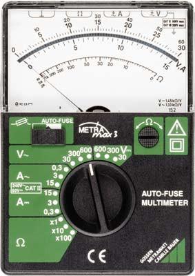 M103A  METRAmax 3  Analogmultimeter -auf Anfrage-
