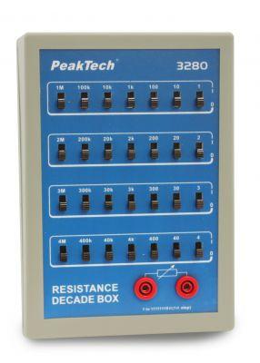P3280 Widerstandsdekade mit Schiebeschalter