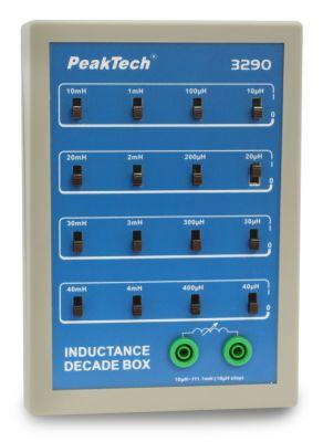 P 3290  Induktivitätsdekade mit Schiebeschalter