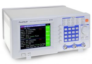 PeakTech® 4040 DDS Funktionsgenerator, 100 mHz - 50 MHz