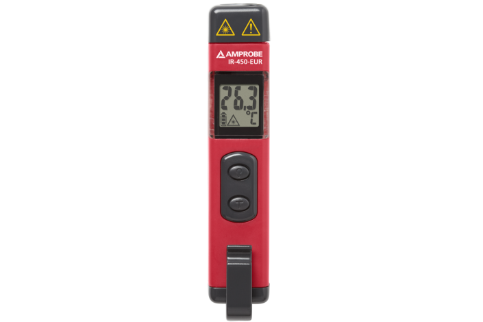 IR-450-EUR Mini Infrarot-Thermometer mit Taschenlampe