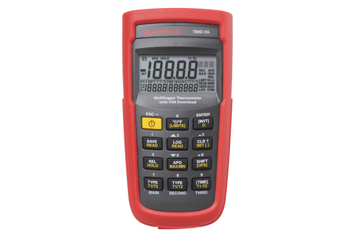 TMD-56  Dig.Thermometer m.Datenlogger u.USB Anschluss (Beh