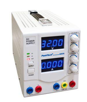 PeakTech6205 Dig. Labornetzgerät 0 - 30 V/0 - 5 A DC