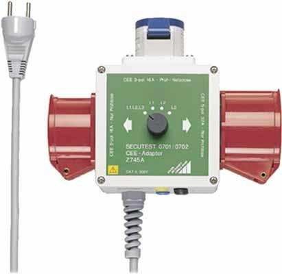 Z745A  CEE-Adapter für Drehstromverbraucher