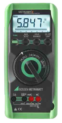 M205A  METRAHIT 2+Multimeter, digital  TRMS