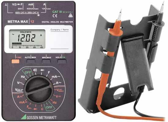 METRAmax 12 Set1,m.Stromzange u.Koffer