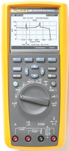 Fluke 289/EUR Multimeter TRMS 1kVac/dc