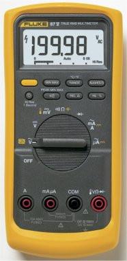Fluke 87V/EUR  Industrielles Echteffektiv-Digitalmultimeter