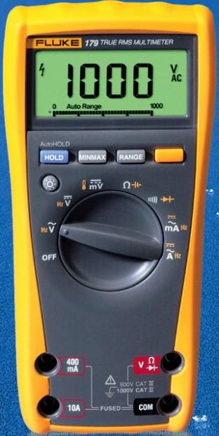 Fluke 177 Echteffektiv-Multimeter