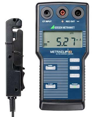 METRACLIP 63  Zangen-Milliamperemeter z.Messung v.Ableitströmen