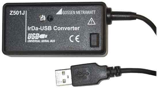 Z501J   IrDA-USB Schnittstellen-Adapter (gmc)